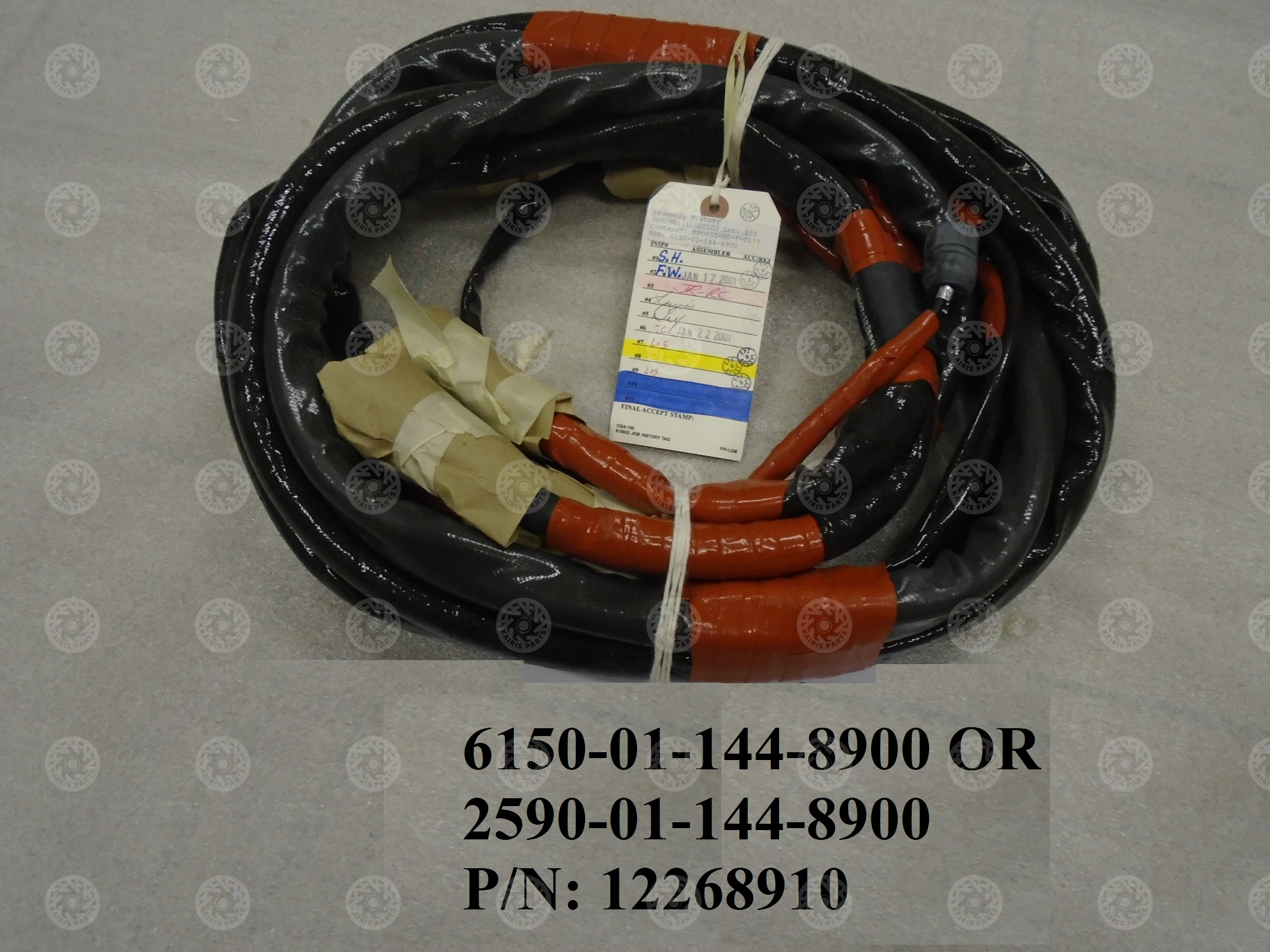 WIRING HARNESS,N NSN:6150-01-144-8900 - Kkairis military ... on wire lamp, wire sleeve, wire connector, wire antenna, wire cap, wire nut, wire holder, wire ball, wire leads, wire clothing,